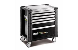 Montážní dílenský vozík na nářadí USAG 519 R6/4NV