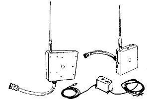 Dálkové rádiové ovládání nákladní zouvačky TECO RC