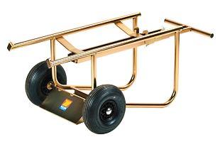 Vozík na sud pro olej a tuk MECLUBE 030-1407-000 (180 - 220 kg)