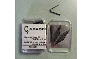Prořezávací nůž dezénu GOV 360003002 (4 - 6 mm)