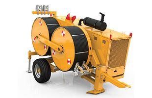 Digitální hydraulický stahovák-napínák TESMEC PT1450 (100 kN)