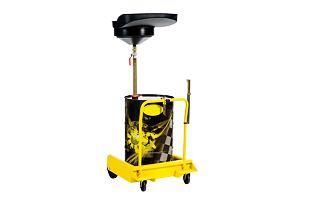 Sběrný trychtýř na vyjetý olej s vozíkem MECLUBE 045-1475-000