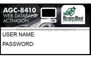 ONLINE webová databanka vozidel AGC-8410