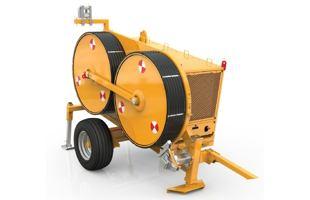 Digitální hydraulický napínák TESMEC TN1200 (40 kN)