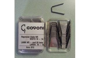 Prořezávací nůž dezénu GOV 360003005 (10 - 14 mm)