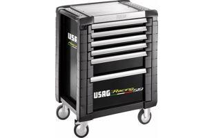 Montážní dílenský vozík na nářadí USAG 519 R6/3NV