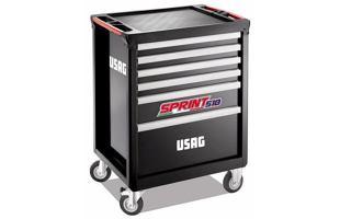 Montážní dílenský vozík na nářadí USAG 518 SP6V