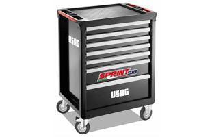 Montážní dílenský vozík na nářadí USAG 518 SP7V