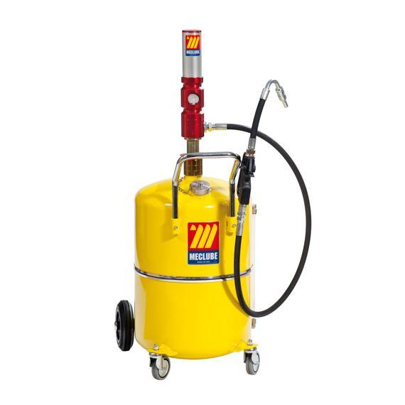 Pojízdná pneumatická plnička oleje MECLUBE 027-1315-000