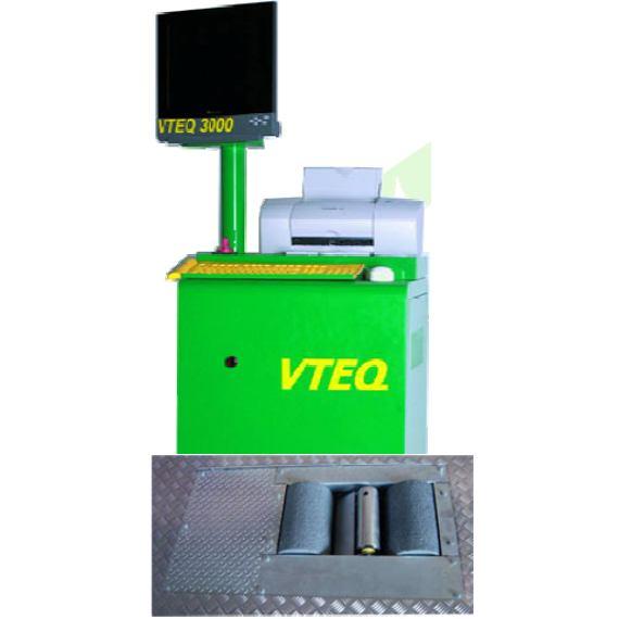 Válcová zkušebna brzd VTEQ BRAK 1000 DIGITAL - MOTO